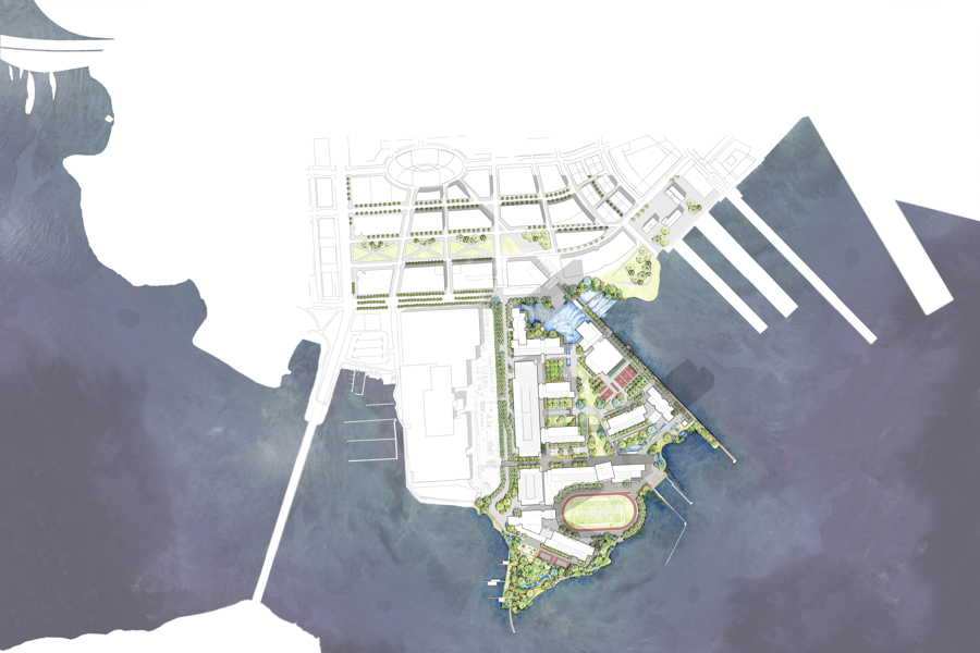 Under Armour Campus Map.Under Armour Campus Master Plan And Design Revealed Nelson Byrd Woltz