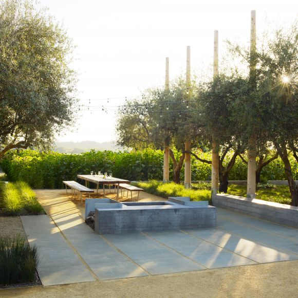 Modern Or Rustic Front Landscape Design: Nelson Byrd Woltz